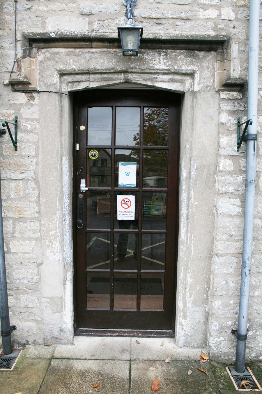 The Manor House Door